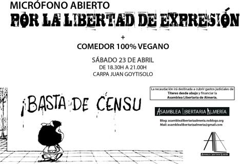 Cartel Micro Abierto