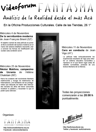 Cartel Videoforum Fantasma 1